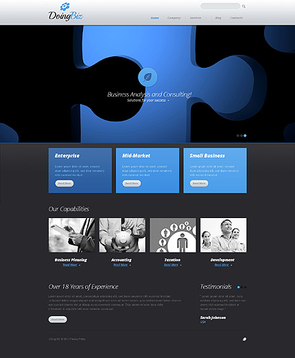 ITビジネス会社ホームページ
