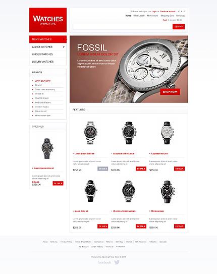 時計ショップサイト