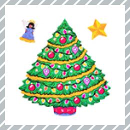 Winter 冬 クリスマスシール